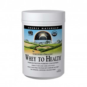 Source Naturals Whey to Health Premium Protein Powder Concentrate 10 oz