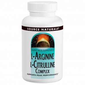 Source Naturals-L-Arginine L-Citrulline 120 Tablets