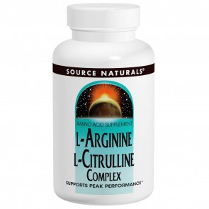 Source Naturals L-Arginine L-Citrulline 240 Tablets