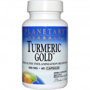 Planetary Herbals Turmeric Gold 500 mg 60 Capsules