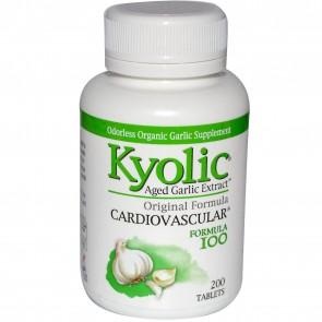 Kyolic Garlic Supplements - Formula 100-200 tablets
