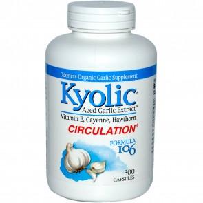 Kyolic Aged Garlic Extract Formula 106 300 Capsules