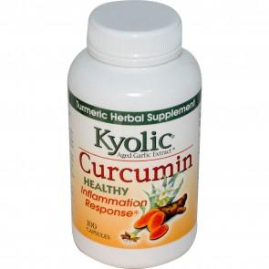 Kyolic Aged Garlic Extract™ Curcumin, 100 Capsules