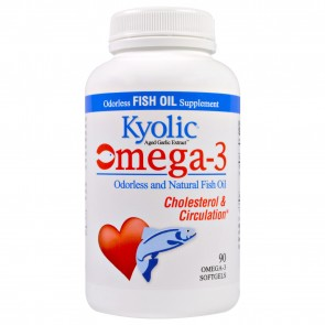 Kyolic EPA Garlic Supplements 90 Capsules