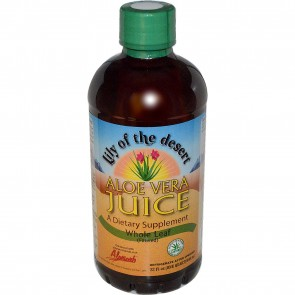Lily Of The Desert Aloe Vera Juice Organic Whole Leaf 32 oz.