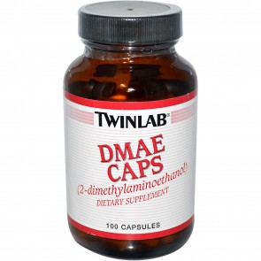 TwinLab DMAE Caps 100 mg 100 capsules