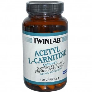 Twinlab Acetyl L-Carnitine 120 Capsules