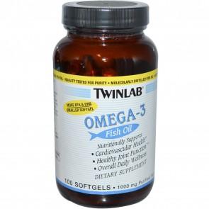 Twinlab Omega 3 100 softgels