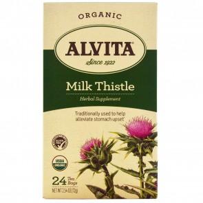 Alvita-Organic Milk Thistle 24 Tea bags