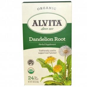 Alvita - Dandelion Root (Roasted) Caffeine Free - 24 Tea Bags