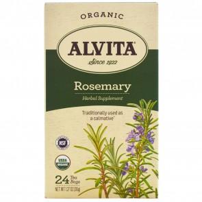 Alvita Herbal Leaf Tea, Rosemary ‑ 24 count, 1.27 oz box
