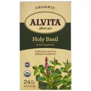 Alvita Holy Basil Tea Organic 24 Bags