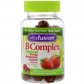 Vitafusion B Complex, Adult Vitamins, Gummies 70 ct