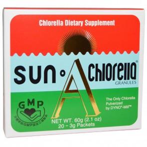 Sun Chlorella A Granules 60g. 20 Pack(s)