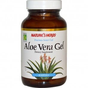 Nature's Herbs Aloe Vera Gel 50 Capsules