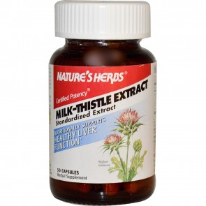 Natures Herbs Milk Thistle Extract 50cp