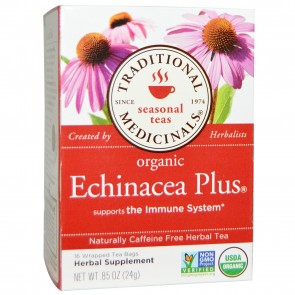 Traditional Medicinals Organic Echinacea Plus Herbal
