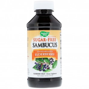 Nature's Way Sambucus Sugar-Free Syrup 4 fl oz