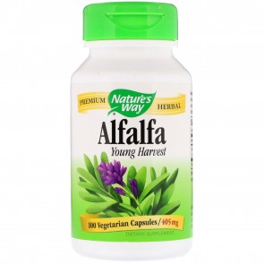 Nature's Way Alfalfa Young Harvest 405 mg 100 Capsules