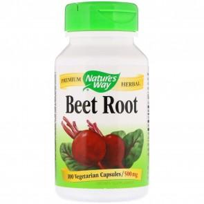 Nature's Way Beet Root 500 mg 100 Capsules