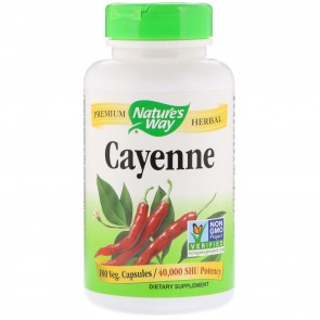 Nature's way Cayenne 40,000 h.u 180 Capsules