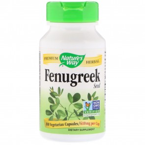 Nature's Way Fenugreek Seed 100 Capsules