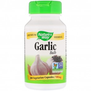 Nature's Way Garlic Cloves 100 Capsules