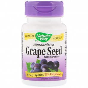 Nature's Way Grape Seed Standardized 30 Capsules