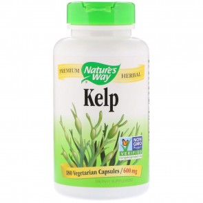 Nature's Way Kelp 180 Capsules