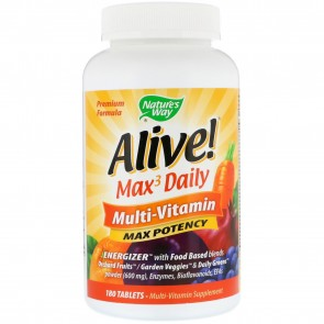 Nature's Way Alive Multi Vitamin With Iron 180 Tablets