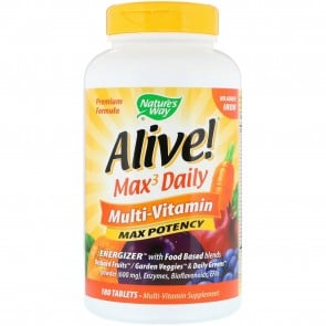 Nature's Way Alive Multi Vitamin Iron Free 180 Tablets