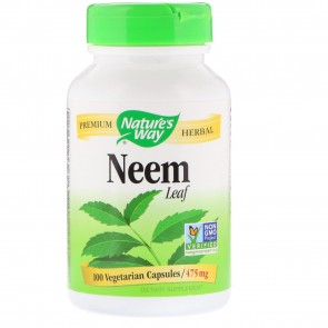 Nature's Way Neem Leaves 100 Capsules