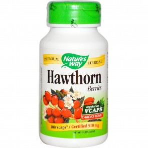 Nature's Way Hawthorn Berries 100 Vegetarian Capsules