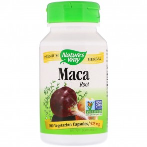 Maca Root 525mg 100 Capsules