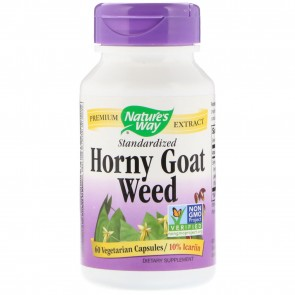 Nature's Way Horny Goat Weed 60 Vegetarian Capsules