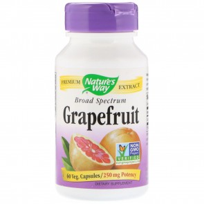 Nature's Way Grapefruit Seed Standardized 60 Capsules