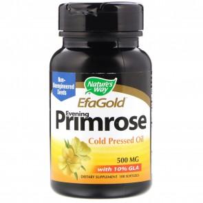 Nature's Way EfaGold Evening Primrose 500 mg 100 Softgels