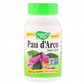 Nature's Way Pau D'Arco 100 Capsules