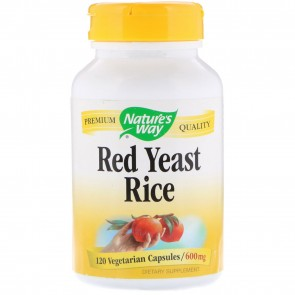 Nature's Way - Red Yeast Rice - 120 VCaps