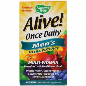 Nature's Way Alive Once Daily Men's Ultra Potency 60 Tablets