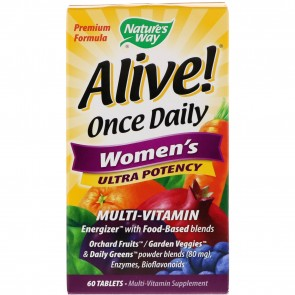 Nature's Way Alive! Once Daily Women's Multi Vitamin 60 Tablets