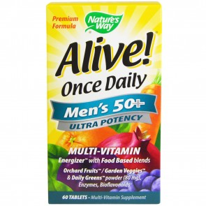 Nature's Way Alive Ultra Potency for Men 50+ 60 Tablets