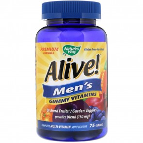 Nature's Way Alive! Men's Vitamins 75 Gummies