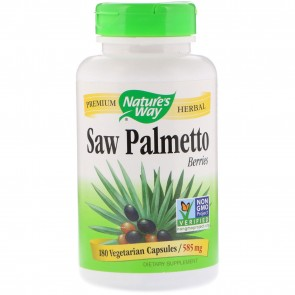 Nature's Way Saw Palmetto Berries 180 Capsules