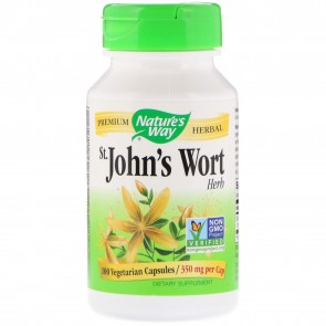 Nature's Way St John's Wort Herb 100 Capsules
