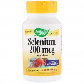 Nature's Way Selenium 200 mcg 100 Capsules