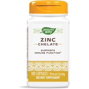 Natures Way Zinc Chelate