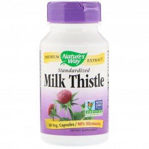 Nature's Way-Milk Thistle Extract 60 Capsules
