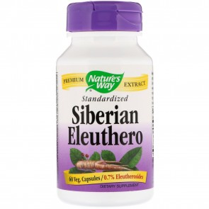 Nature's Way - Siberian Eleuthero Standardized Extract - 60 Capsules