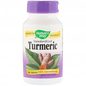 Nature's Way Turmeric Standardized 60 Tablets